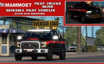 Skinable Pilot Vehicles (Mammoet) v1.0 1.34.x