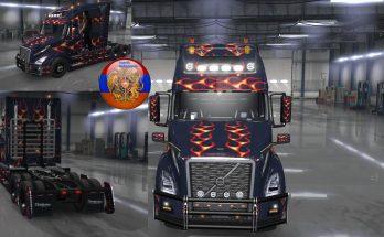 Volvo VNL 2018 Truck XXX 3 Metallic Skin 1.34.x