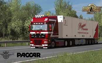 DAF XF Paccar MX sound mod (updated 18-4-19) 1.34.x