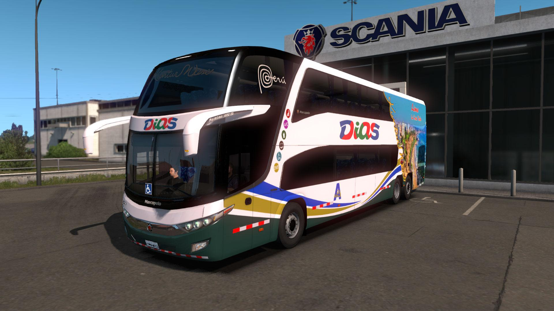 ETS2 Mods Pack - Bus Pack 1.34.x