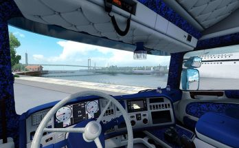 Holland Danish Interior for Scania RJL 1.34