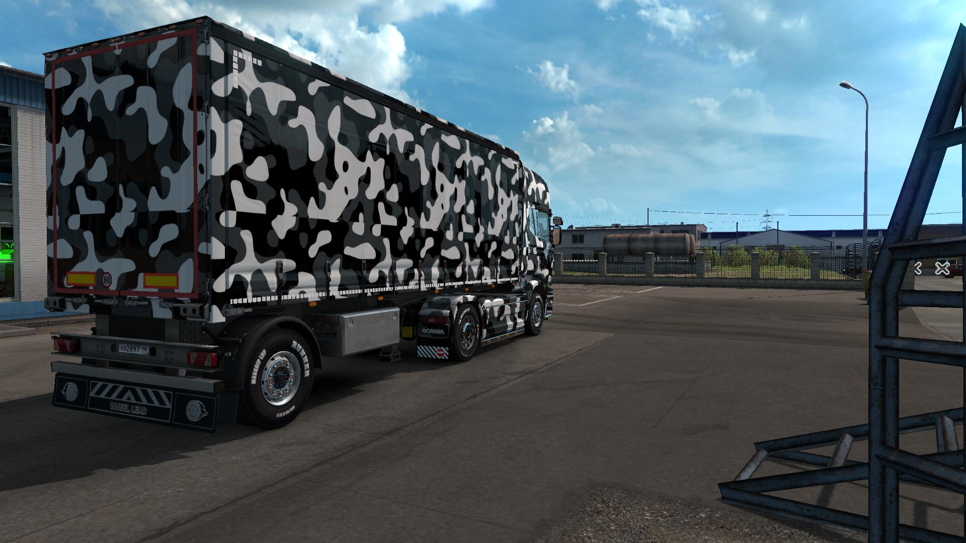OMON Skin for all personal trailers 1.34.x