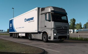 Mercedes Actros OM471 engine sound 1.34.x