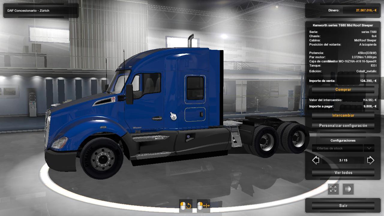 Pack USA Trucks ETS2 1.34.x
