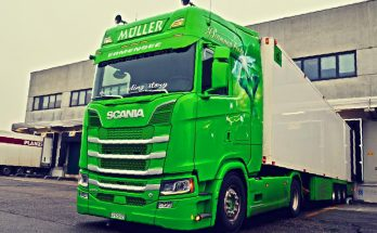 Scania R, S (Next Gen) Deep V8 Sound v2.0