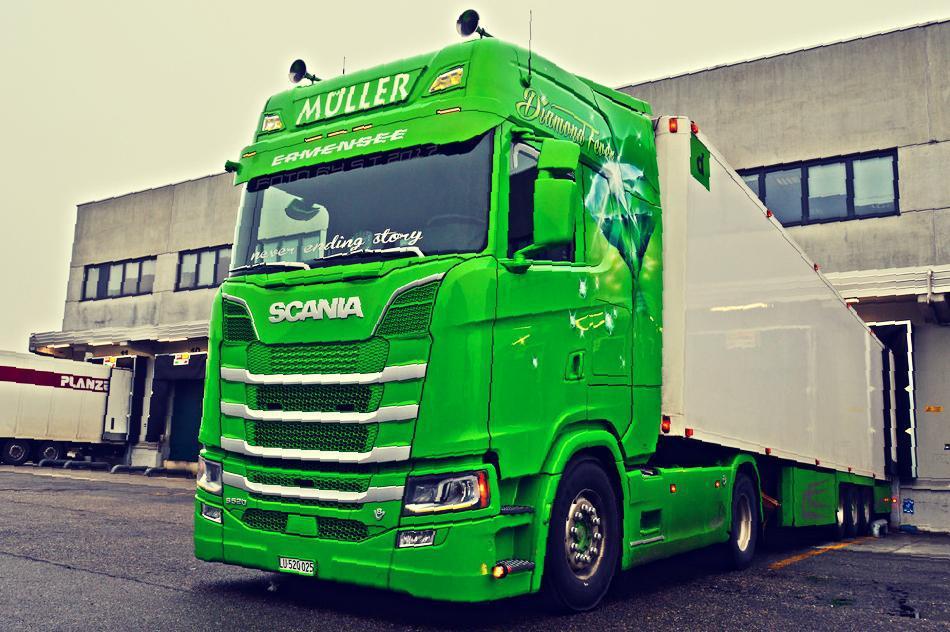 Scania R, S (Next Gen) Deep V8 Sound v2.0