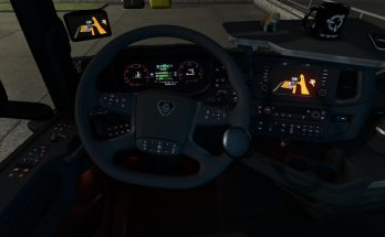 Red color tidy for Scania S 2016 1.34