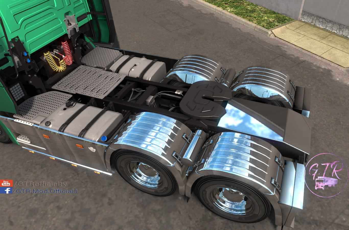 Scania S & R Next Gen Accessories Chrome 1.34.x