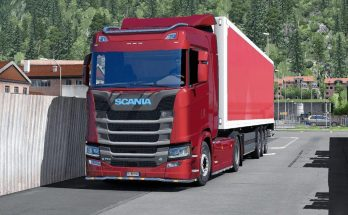 Scania S/R – Low Cabin High Spoiler 1.34.x