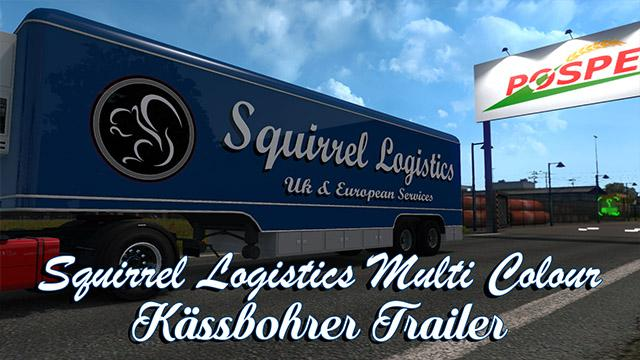Squirrel Logistics Trailer skin 1.34.x
