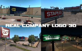 Real Company Logo 3D updated to 1.34