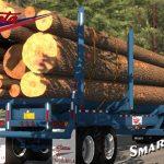 Sparta 4 Bolster Log Trailer