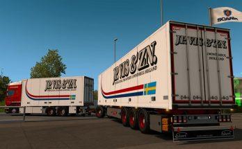 JP VIS & ZN tandem skin + trailer 1.34