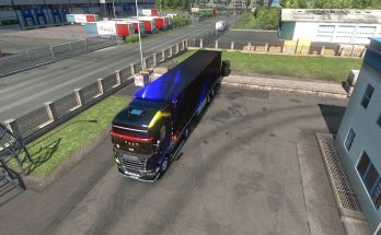 Rainbow skin on all personal trailers except Platforms and Krone 1.34.x