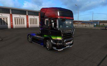 Skin Rainbow for Scania Streamline and R 1.34.x