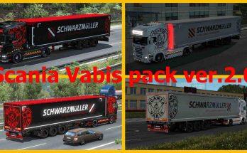 Scania Vabis Pack v2.0 for 1.35