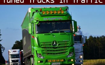 Tuned Truck Traffic Pack by Trafficmaniac v1.0