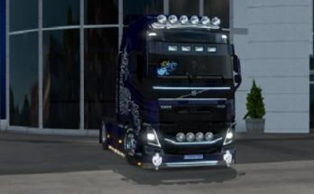 Volvo 750 hp Blue Multiplayer 1.34.x