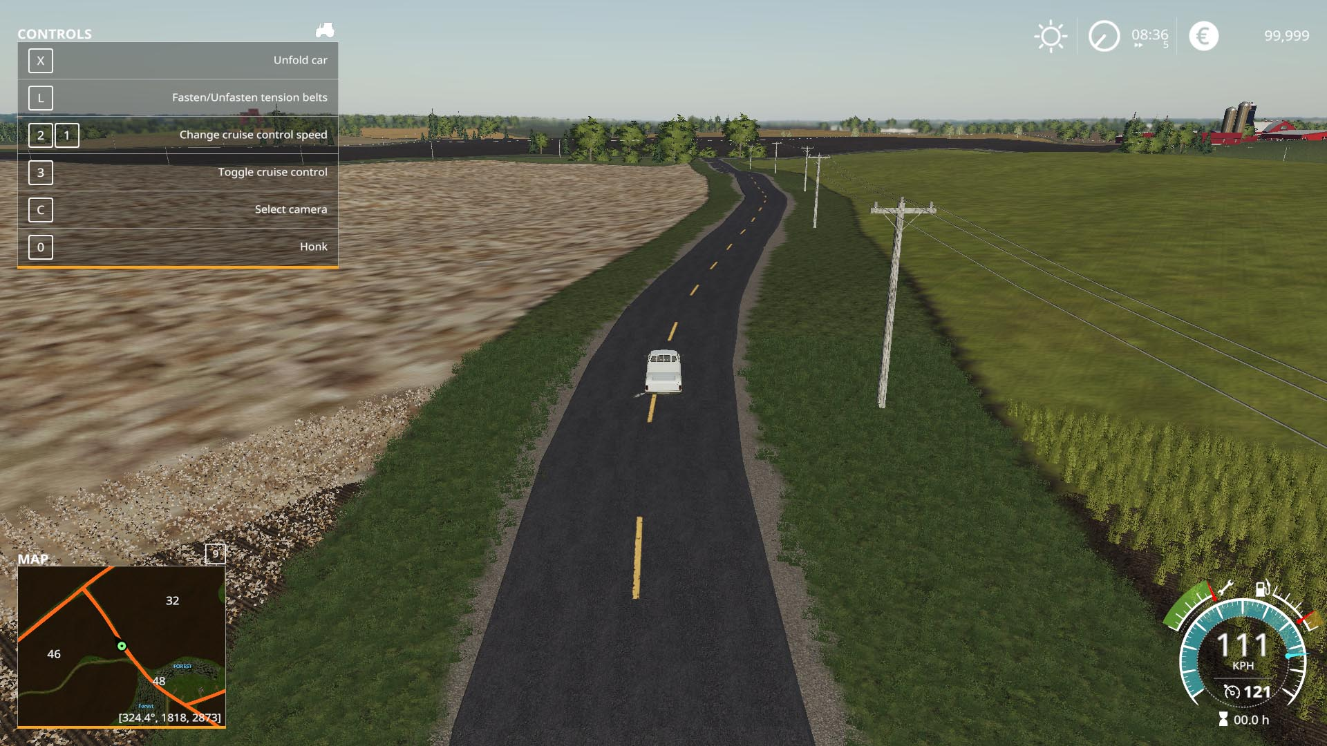 Clover Creak With Buy-Able Town For Mowing v 1.1