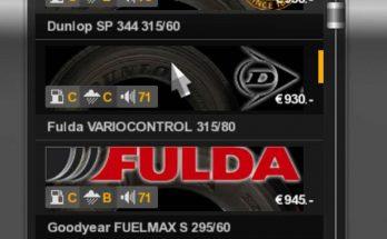 Real Tires Mod v 2.3 1.35