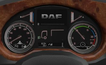 DAF XF Euro6 Board computer with own sounds 1.35.x