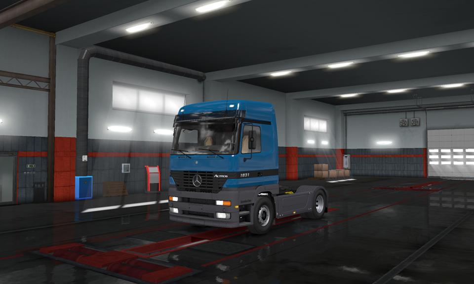 Mercedes-Benz Actros MP1 1.35.x