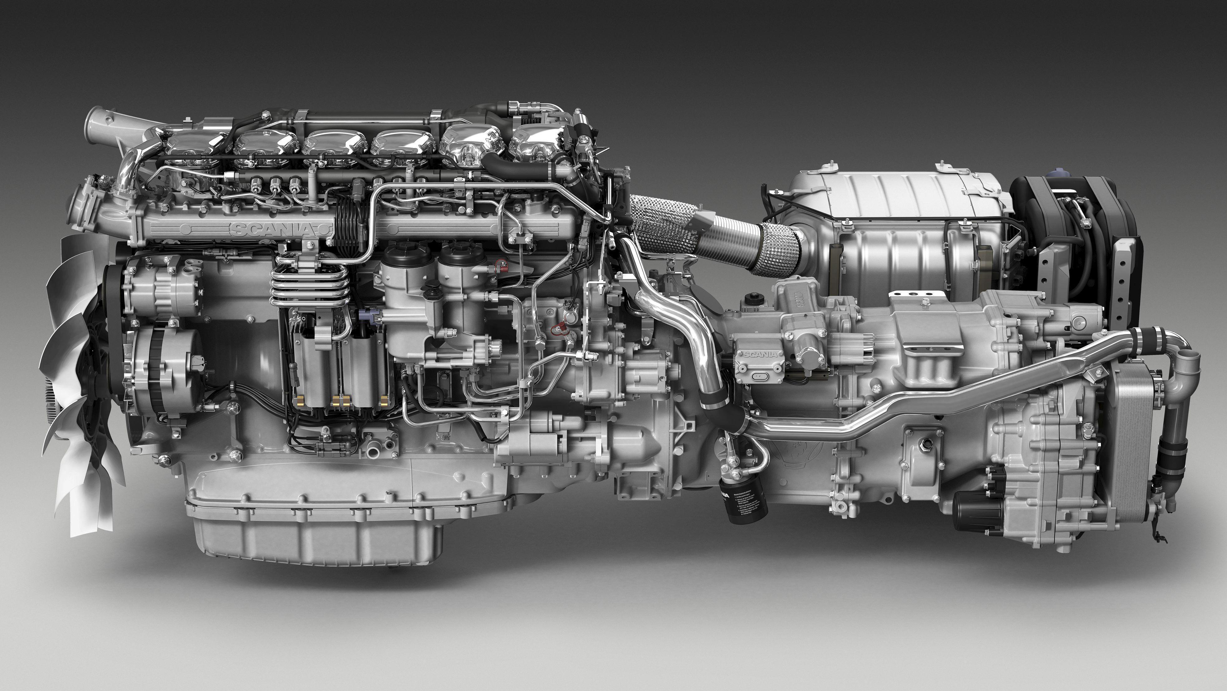 Next Gen Scania S And R New V8 Engine Sound 1.35
