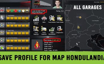 Save Game (Profile) for Map Hondulandia 1.35.x