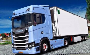 Scania NextGen V8 Open Pipe Sound v1.0