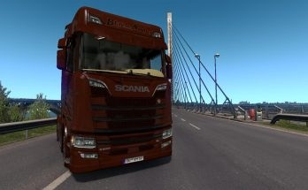 Scania S NextGen - Black Amber (Limited Edition) v1.0