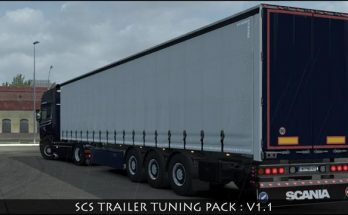 SCS TRAILER TUNING PACK v1.1 1.35.x