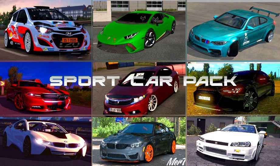 SPORT CAR PACK v1.0