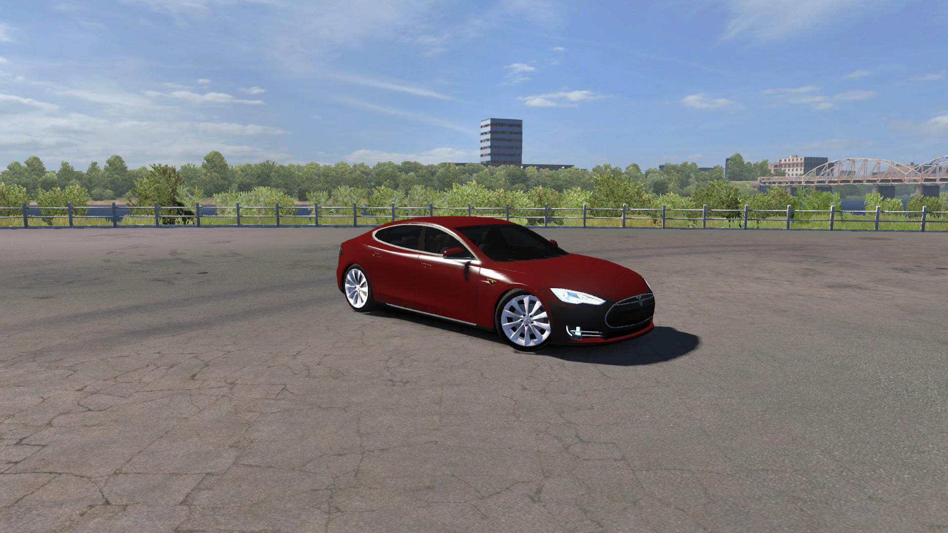 Tesla Model S P85D Fix + Edit 1.35.x