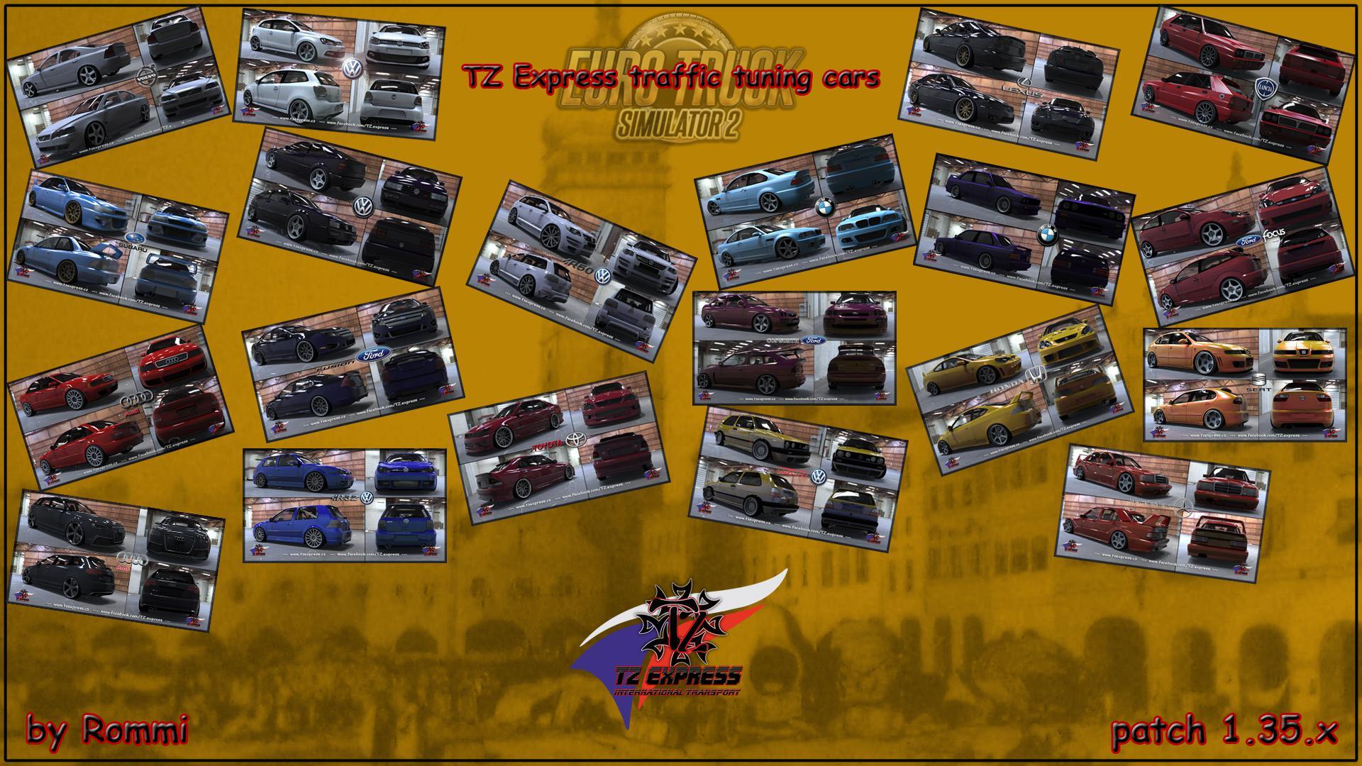 TZ tuning ai cars 1.35.x