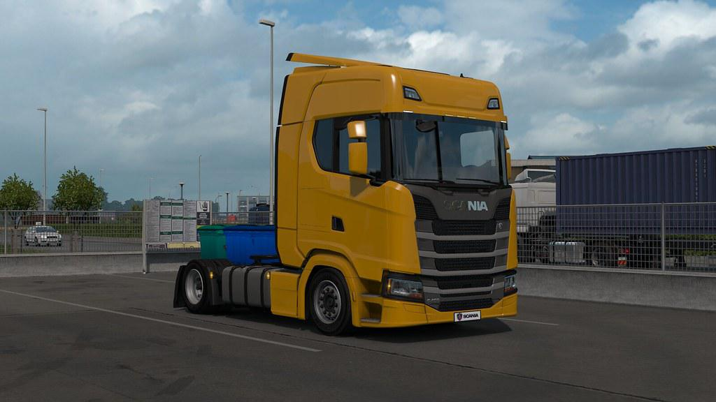 Low deck chassis addon for Eugene Scania NG by Sogard3 v1.0