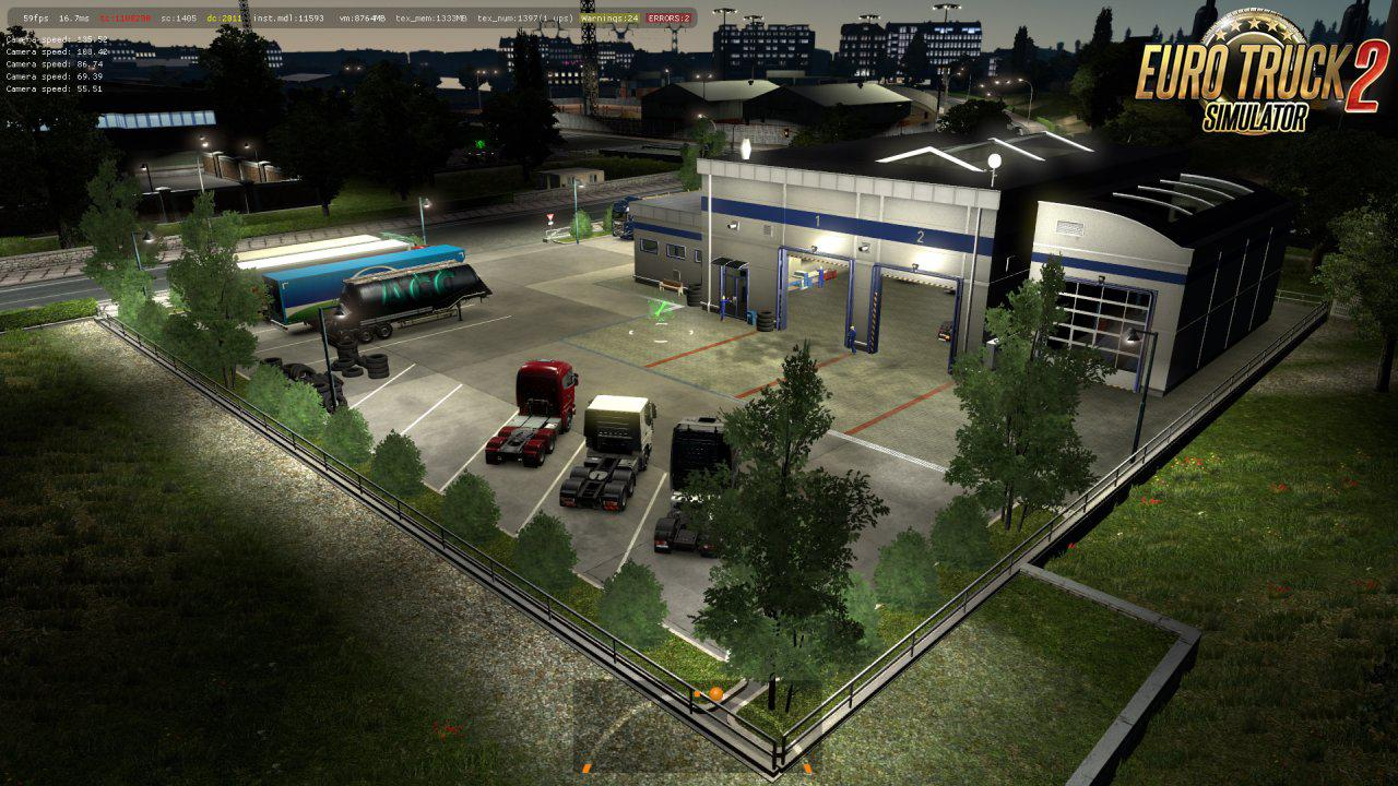 New Prefabs - Service Stations 2 1.35.x