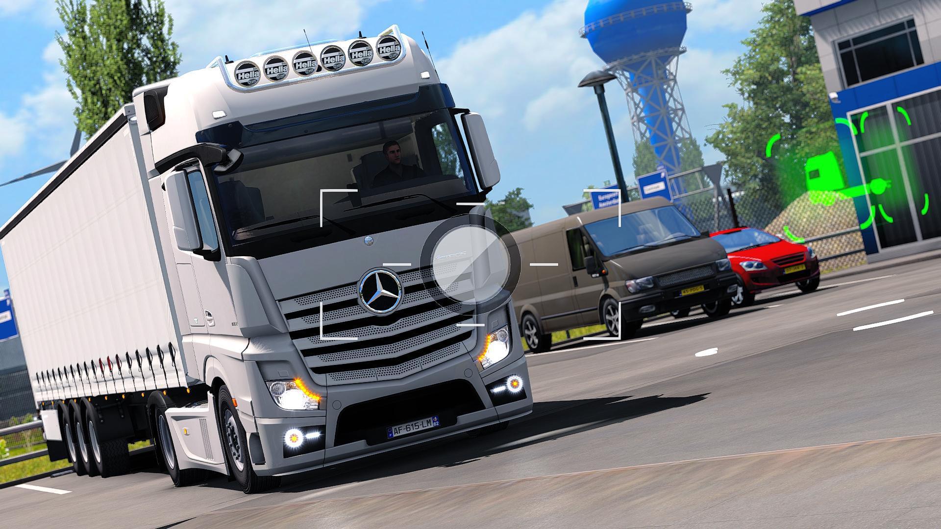 Mercedes Benz Actros Custom Headlights 1.35.x