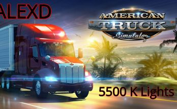 ALEXD 5500 K Lights ATS v1.3