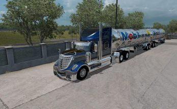 Gasero Gas trailers for ATS 1.35