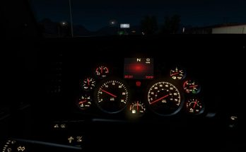 Kenworth T680 dashboard 1.35.x