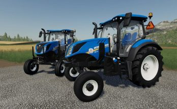 New Holland T6 - 2WD v 1.0