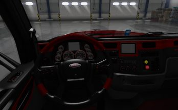 Platinum interior Peterbilt 567 GTM v1.0