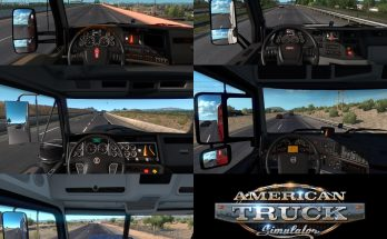 Real Interior Cams ATS v1.0