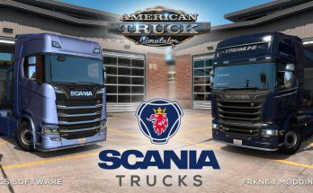 SCANIA TRUCKS MOD – BY FRKN64 V3.1