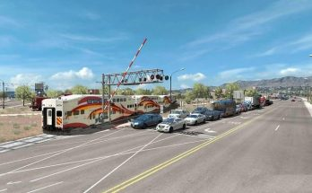 Traffic density mod for ATS 1.35