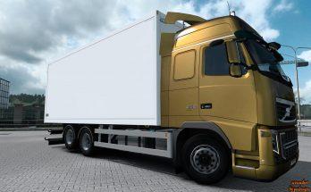 Kraker, NTM, Ekeri, VAK Tandem addon for Volvo FH 2009 v1.1