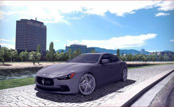 Maserati Ghibli S 1.34x - 1.35