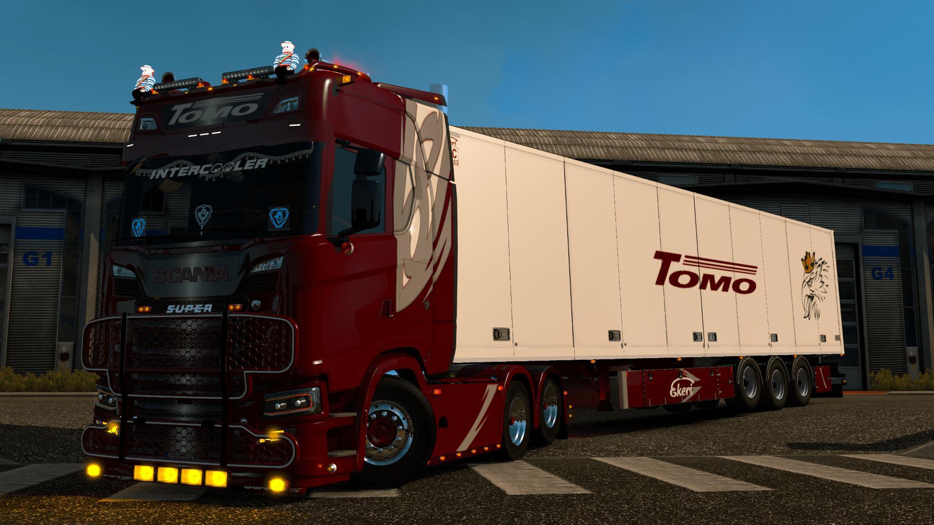 Scania S Tomo transport 1.35