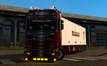 Scania S Tomo transport 1.35