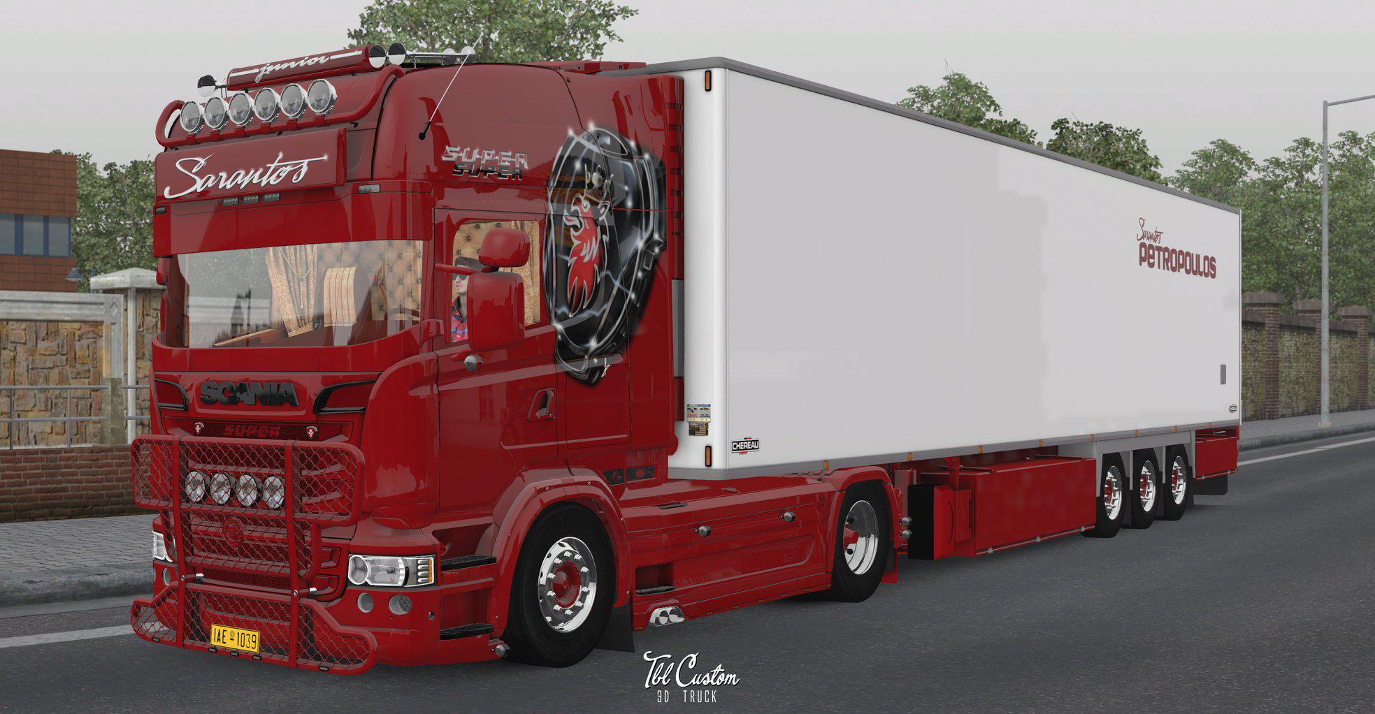Scania Sarantos Junior Combo 1.35.x | Allmods.net